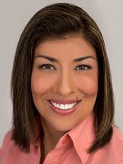 Democratic candidate Lucy Flores