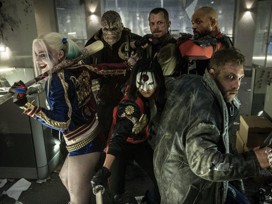 """Suicide Squad"" unfolds like a train wreck."