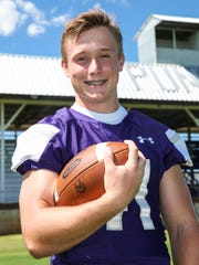 Mason High School's Klay Klaerner was one of the top running backs in the area in Class 2A.