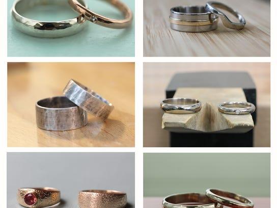 handmade wedding ringsjpg - Make Your Own Wedding Ring