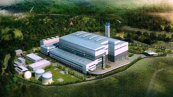 A proposed incinerator in Seneca County could look like this.
