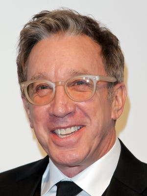 US actor and humorist Tim Allen poses upon his arrival for the 25th annual Elton John AIDS Foundation's Academy Awards Viewing Party on February 26, 2017 in West Hollywood, California.  / AFP PHOTO / TIBRINA HOBSONTIBRINA HOBSON/AFP/Getty Images ORG XMIT: 1 ORIG FILE ID: AFP_M4516