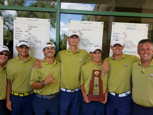 Naples golf district title