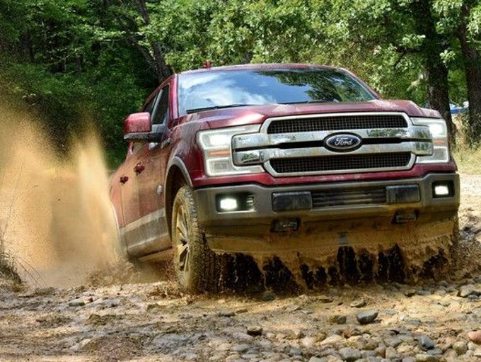 A 2018 Ford F-150 Truck 4X2 with certain features purchased