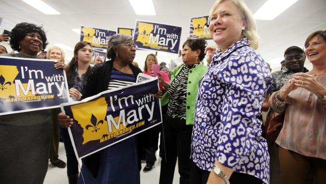 Former Sen. Mary Landrieu, D-La., was the last woman to serve in the state's Congressional delegation. She lost her re-election bid in 2016 to Republican Sen. Bill Cassidy.