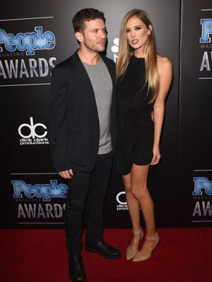 Ryan Phillippe and Paulina Slagter attended the People Magazine Awards in Dec. 2014.