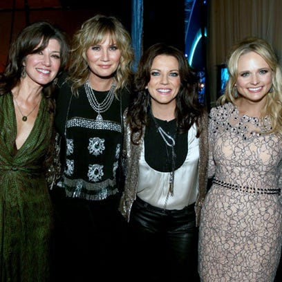 Singers Amy Grant, Jennifer Nettles, Martina McBride