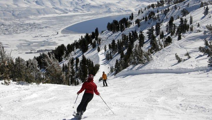 Mt. Rose Ski Tahoe as seen during the plentiful winter