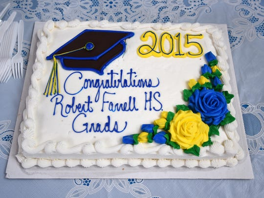 Graduates of Robert S. Farrell High School are honored during a commencement ceremony on Thursday, June 25, 2016, at Hillcrest Youth Correctional Facility in Salem.
