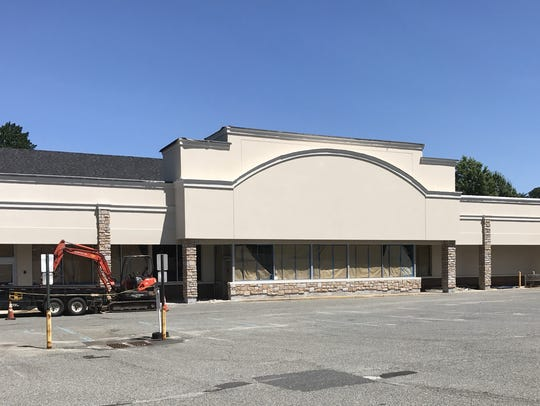 Plans for Food Emporium on Newman Springs Road in Marlboro
