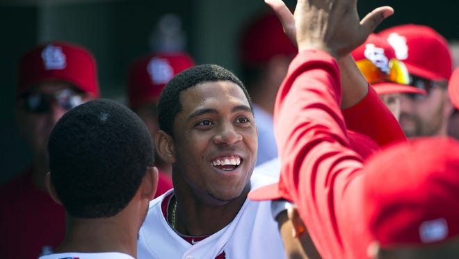 Cardinals rookie Oscar Taveras was killed in a car accident on Sunday.