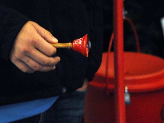 The Salvation Army held a Red Kettle Kick-off Breakfast