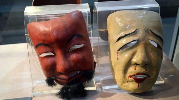 Theatrical masks or the faces of the Arizona legislature?