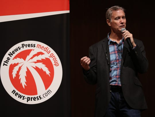 Steve McQuilkin co-hosted the first Southwest Florida Storytellers Project on Oct. 12 in Cape Coral. The event returns Wednesday, Nov. 15, at the Alliance for the Arts in Fort Myers.