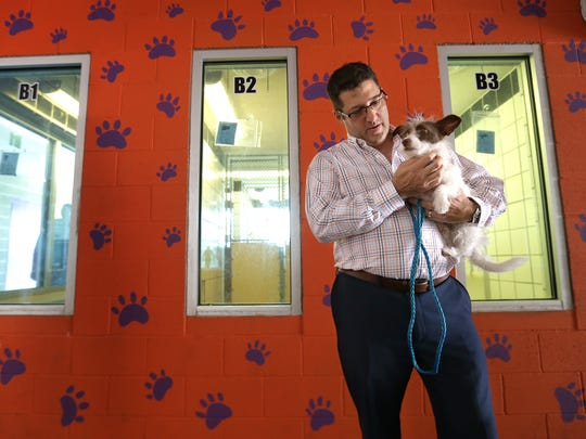 Kurt Fenstermacher was removed as interim director of Animal Services of El Paso in July.
