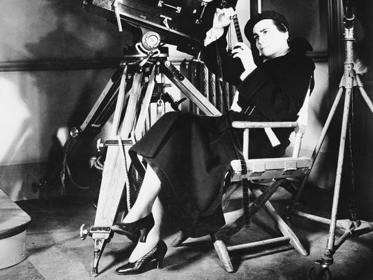 Dorothy Arzner, the first woman hired as a director
