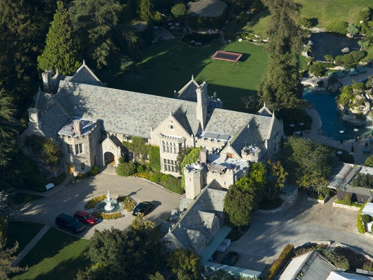 The Playboy Mansion.