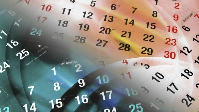 Are these events on your calendar?