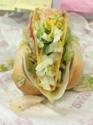 The Courier-Post introduces the Toagie – a taco wrapped in a hoagie to commemorate National Hoagie Day and Cinco de Mayo, both celebrated on May 5.