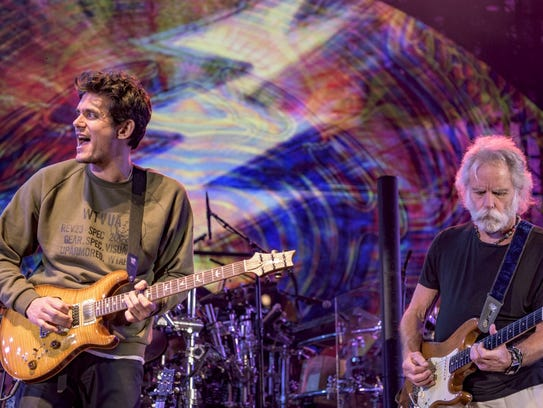 dead and company go on summer tour with bob weir and john mayer. Black Bedroom Furniture Sets. Home Design Ideas
