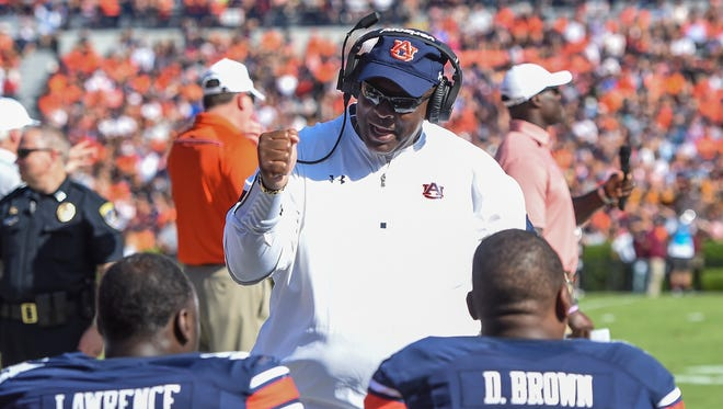 Auburn defensive line coach Rodney Garner has put together arguably the nation's top defensive line.