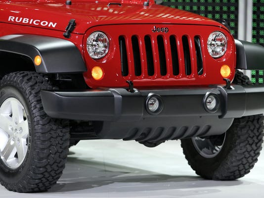 The grill of the 2006 Jeep Wrangler is s