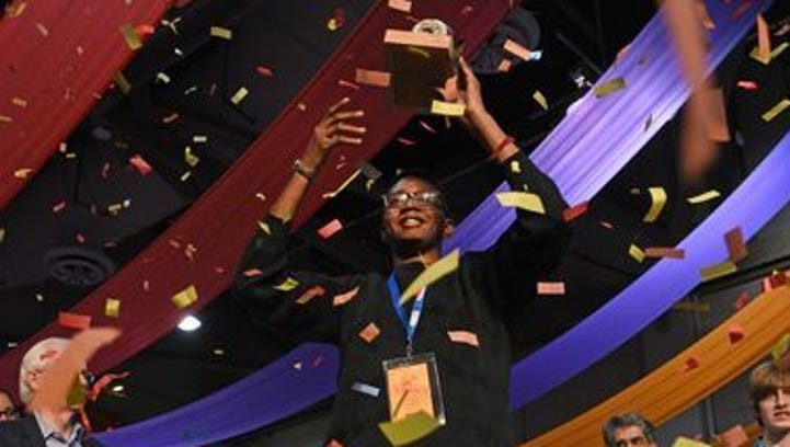 Film Prize Jr. winner Brandon Armstrong.