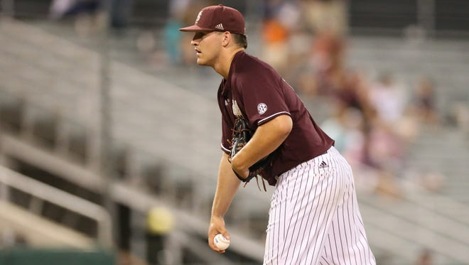 Riley Self has been MSU's best reliever.