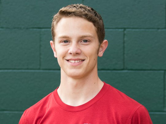West Salem High School track and field athlete Brennen Le Bel