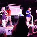 DJs for new alternative radio station 94.3 The X are introduced Saturday at the Downtown Artery.
