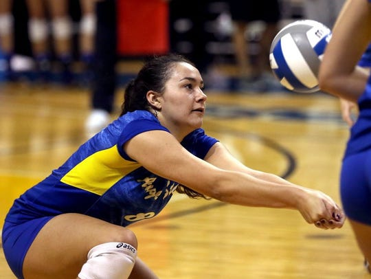 Brianna Sotello has seen significant playing time for