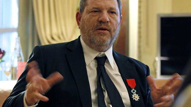 French President Emmanuel Macron said Sunday that he wants to revoke Harvey Weinstein's Legion of Honor award after the wave of accusations of sexual harassment and abuse against him.