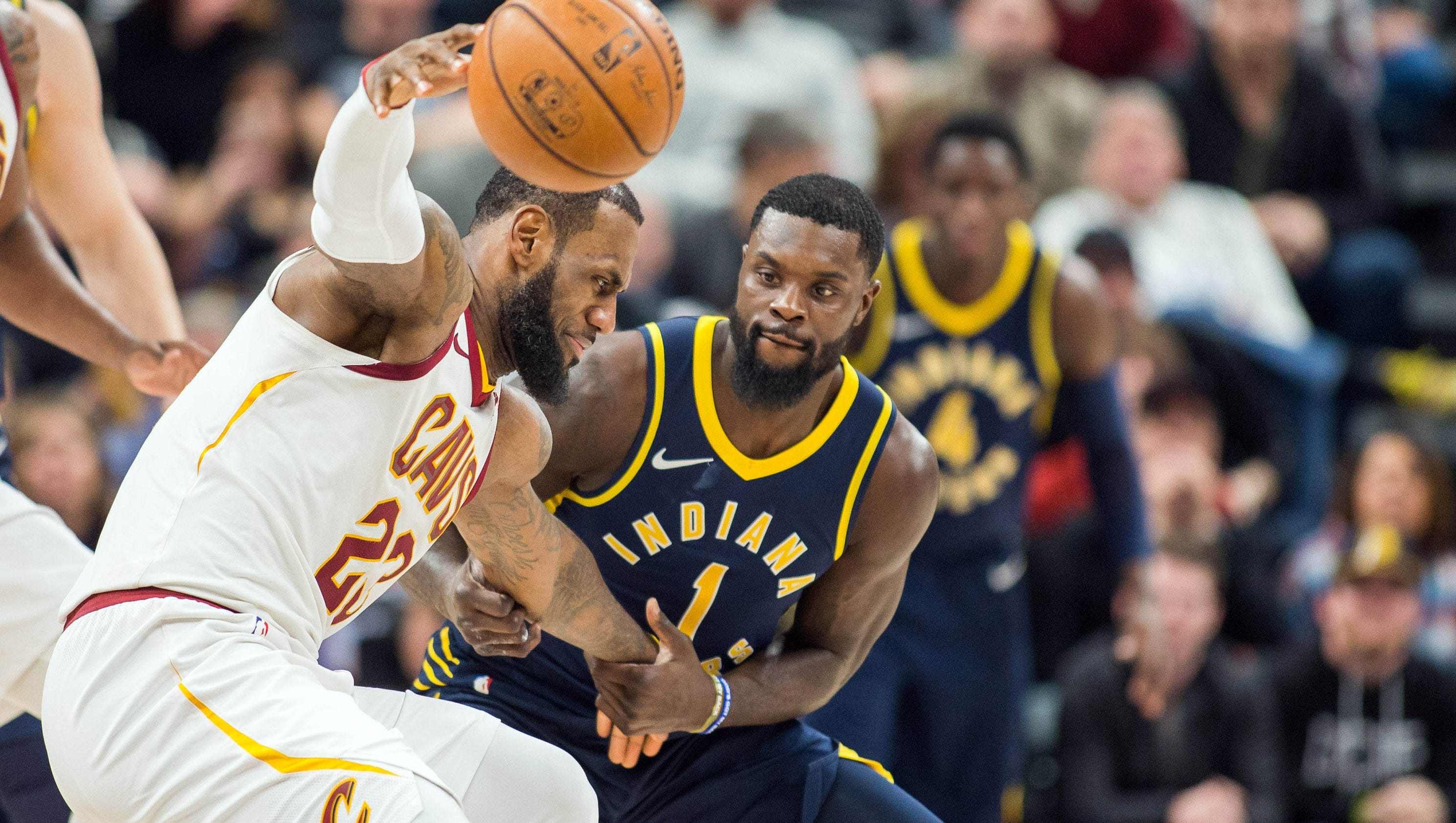 Doyel: It doesn't always work, but Lance Stephenson ruins LeBron James this time