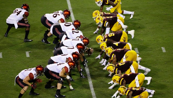 Sept. 15 - ASU at San Diego State, 7:30 p.m., CBS Sports Network.