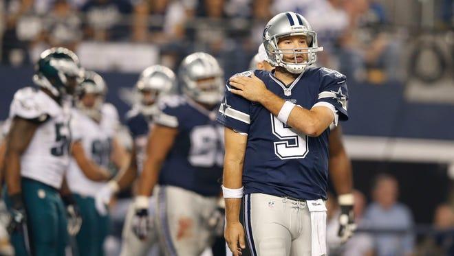 Dallas Cowboys quarterback Tony Romo historically doesn't fare well in December.