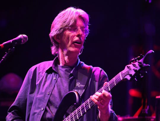 Bassist Phil Lesh, pictured in 2009 at The Forum in