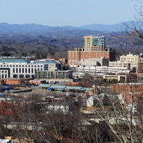 Asheville has grown 5.2 percent since 2010.