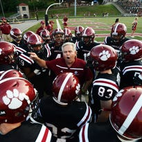 Asheville High coach Danny Wilkins and the Cougars are home for Friday's game against Pisgah.
