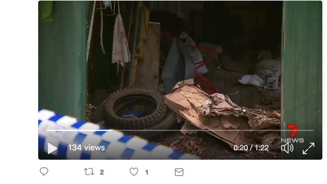 A decomposed body was found inside a hoarder's home in Australia. Police are investigating how the person died.