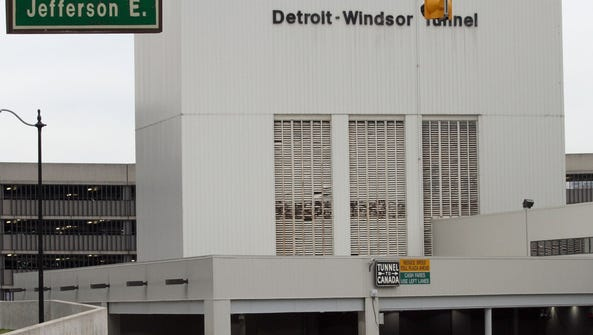 Detroit-Windsor Tunnel.