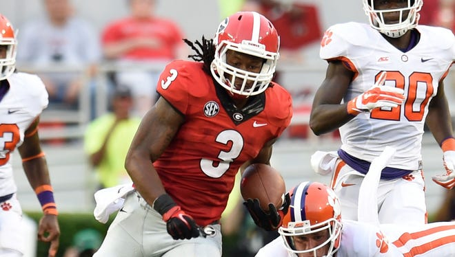 A highly efficient and effective performance in Week 1 entrenched Georgia's Todd Gurley in the early Heisman discussion.