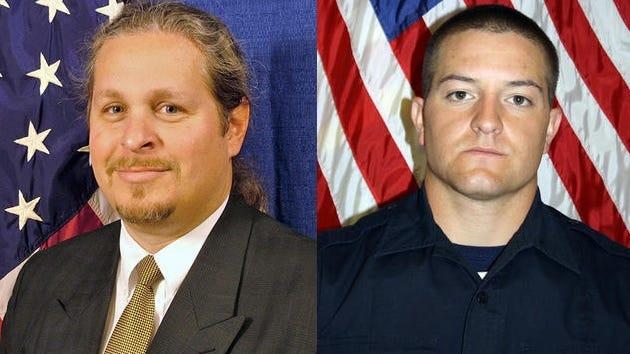 Ocean City Police officers Thomas Geohegan and Joshua Adickes died in a June 30, 2013, plane crash in Ocean City. Geohegan was the pilot and Adickes was his passenger.
