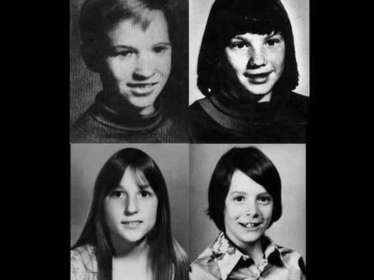 The four victims of the Oakland County Child Killer: