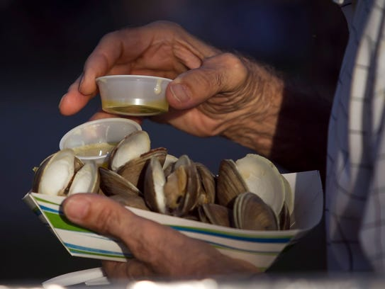 The 15th annual Sebastian Clambake is 2-9 p.m. Friday,