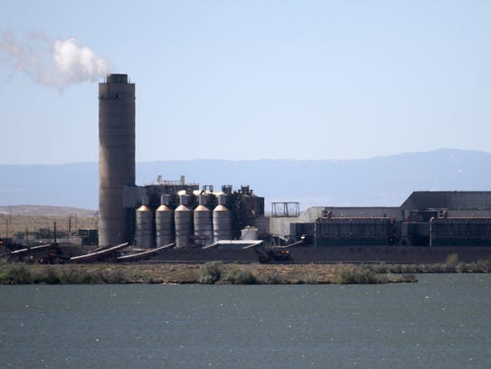 The Four Corners Power Plant as seen on Friday south