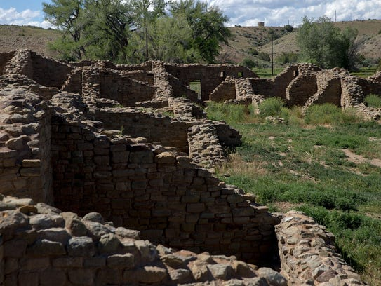 Aztec Ruins National Monument is seen in this file photo. The government shutdown on Monday closed this popular destination, and the Chaco Culture National Historic Park, according to a federal press release.