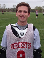 Here is Harrison Brennan during his time at Worcester