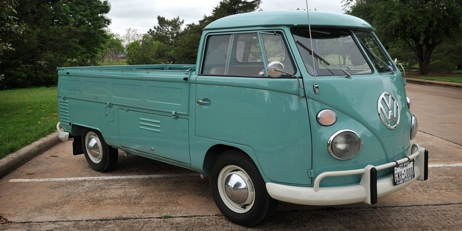 Vintage Vw Van Holds Memories For Owner
