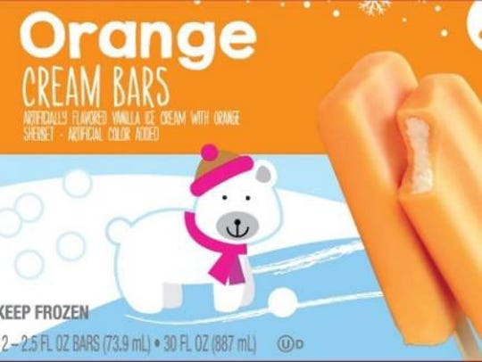 Orange cream bars recalled for possible Listeria.