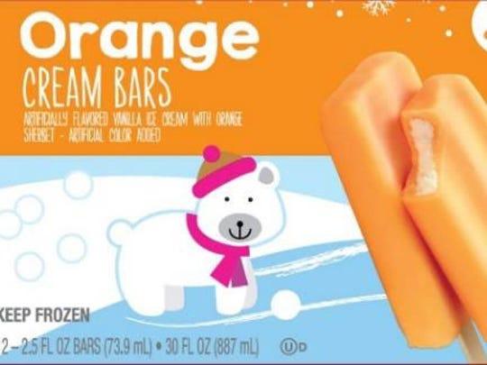 Orange cream bars recalled for possible Listeria.